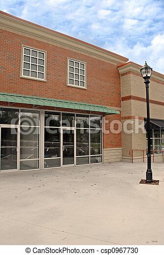 建物, 新しい, コマーシャル - csp0967730