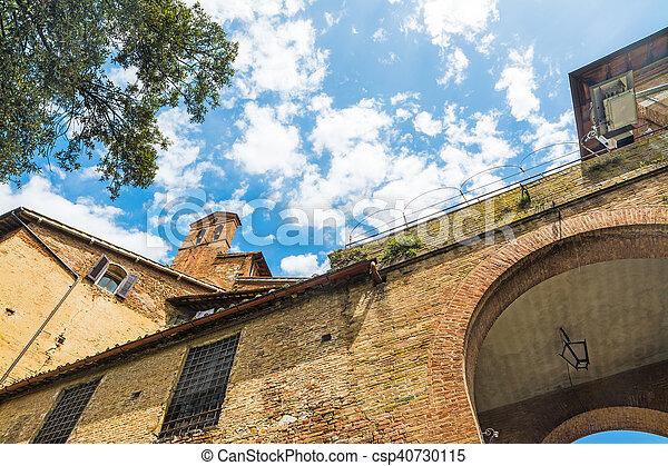 建物, 歴史的, トスカーナ - csp40730115