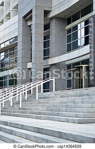 建物, 現代, コマーシャル - csp14364509