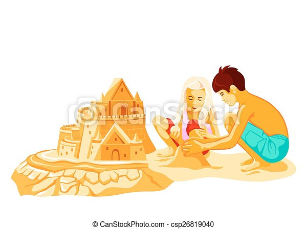 建物, 砂の 城 - csp26819040