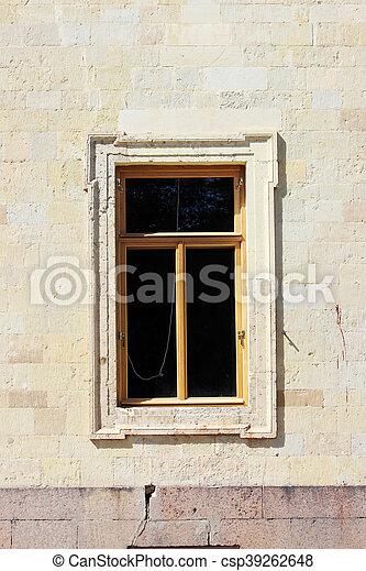 建物, 窓, 歴史的, 建築である - csp39262648