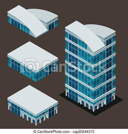 建物, 等大, 現代 - csp20244315