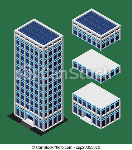 建物, 等大, 現代 - csp20055872