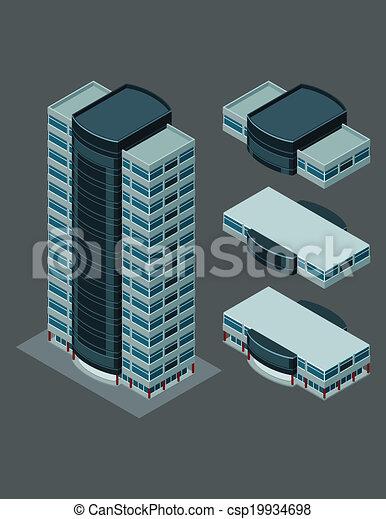 建物, 等大, 現代 - csp19934698