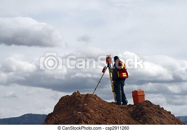 建筑工地, 测量素材照片