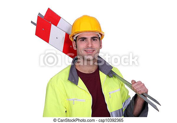 建築作業員 - csp10392365