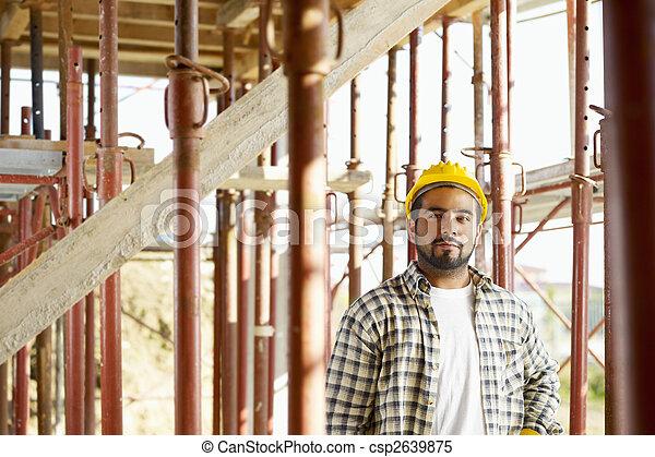 建築作業員 - csp2639875