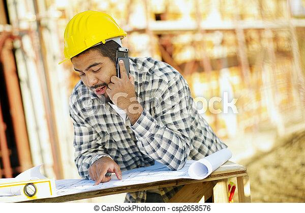 建築作業員 - csp2658576