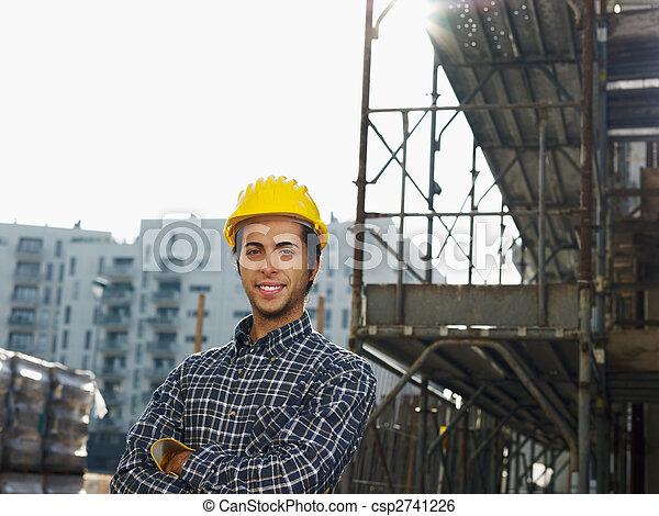 建築作業員 - csp2741226
