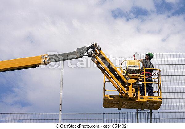 建築作業員 - csp10544021
