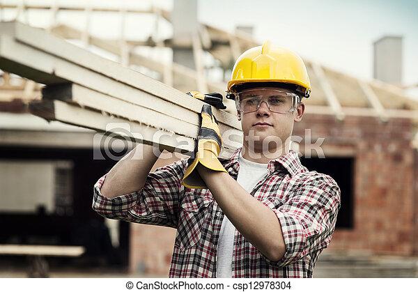 建築作業員 - csp12978304