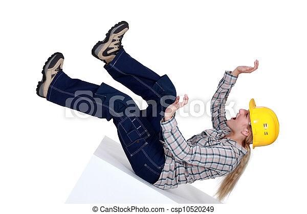 建築作業員, 事故 - csp10520249
