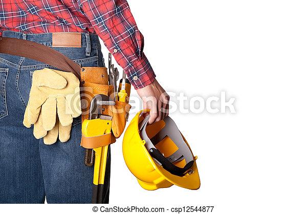 建築作業員 - csp12544877