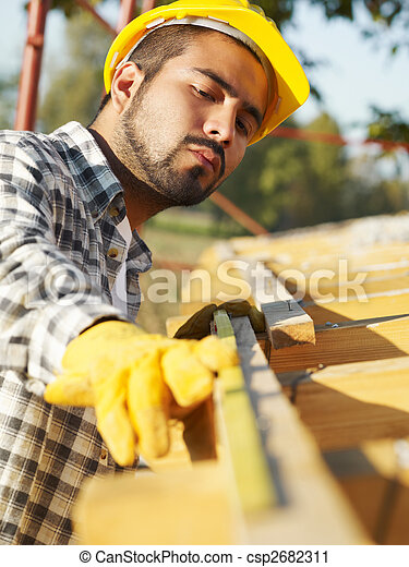 建築作業員 - csp2682311