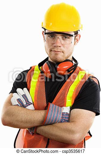 建築作業員 - csp3535617