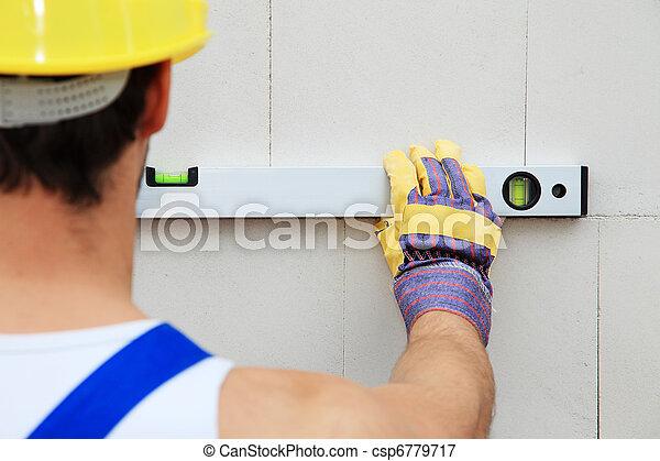 建築作業員 - csp6779717