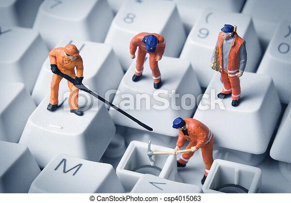 建築物, 小, 技術, 事務 - csp4015063