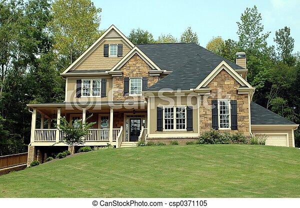 建築物, 新的家 - csp0371105