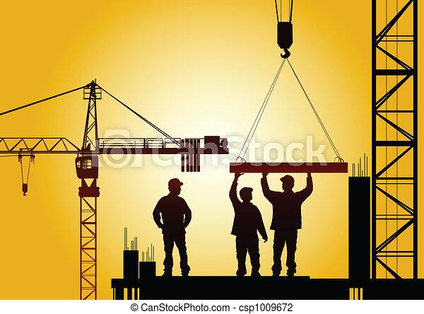 建設, 下に - csp1009672