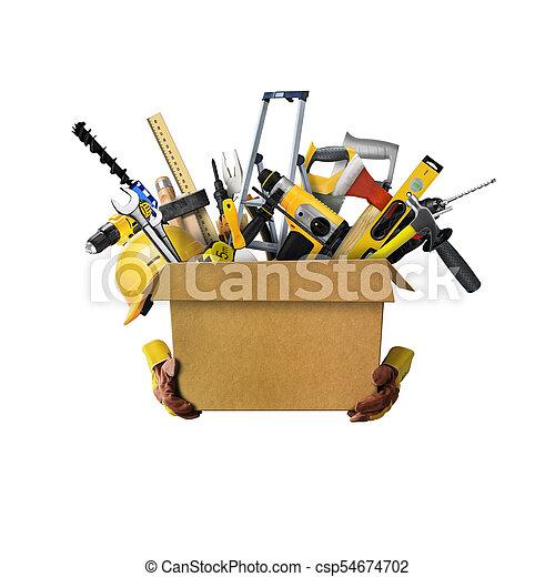 建設, 工具 - csp54674702