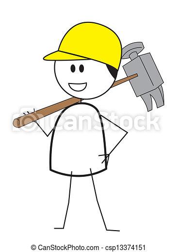 建设工人 - csp13374151