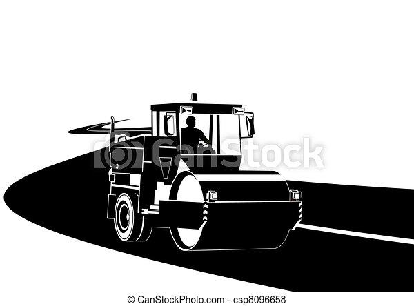 建设机械, 道路 - csp8096658