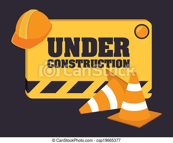 建设, 设计, 在下面 - csp19665377