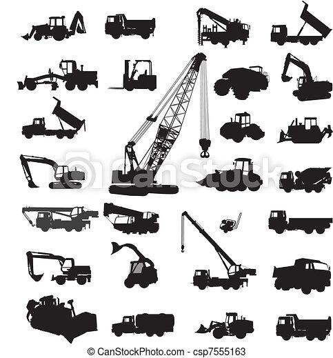 建造設備, 修建 - csp7555163