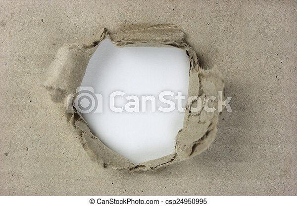 引き裂かれたペーパー - csp24950995