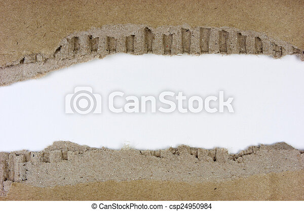 引き裂かれたペーパー - csp24950984