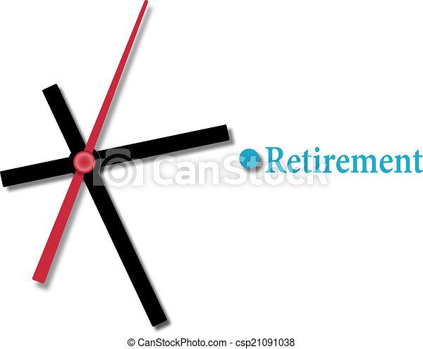 引退, 計画, 財政, 時間 - csp21091038