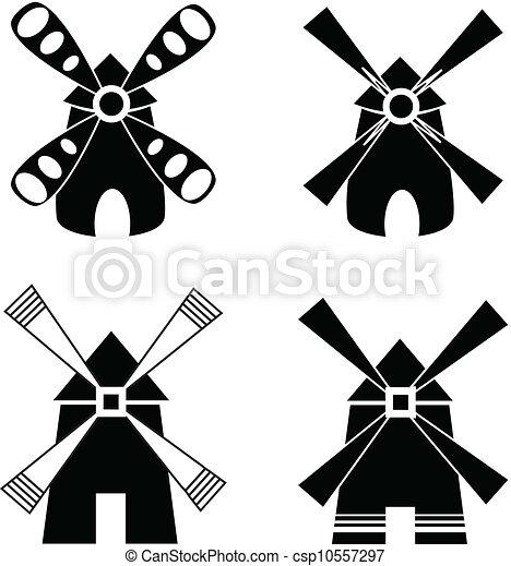 強い, windmill. - csp10557297