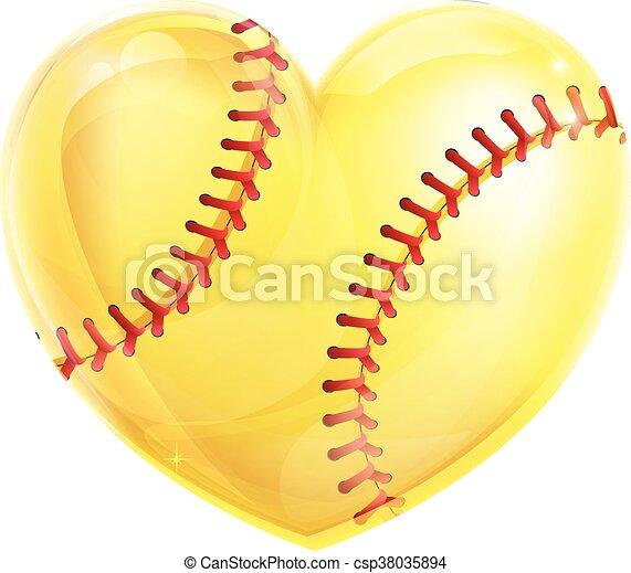 形づくられた心, ソフトボール - csp38035894