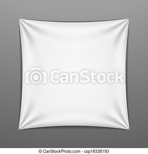 形狀, 廣場, 白色, 伸展 - csp16338193