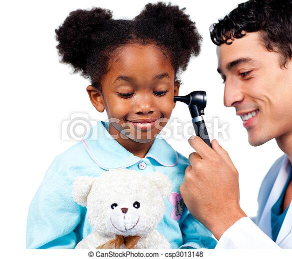 很少, 她, teddy, 醫學, 种族, 訪問, 熊, 當時, 華麗, 女孩 - csp3013148