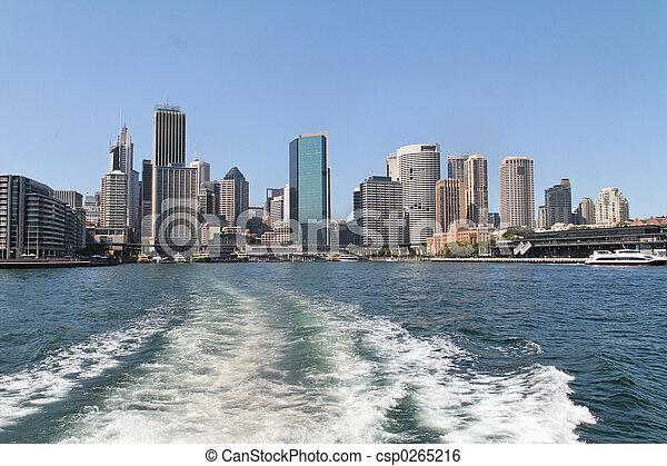 後部, シドニー, 光景 - csp0265216