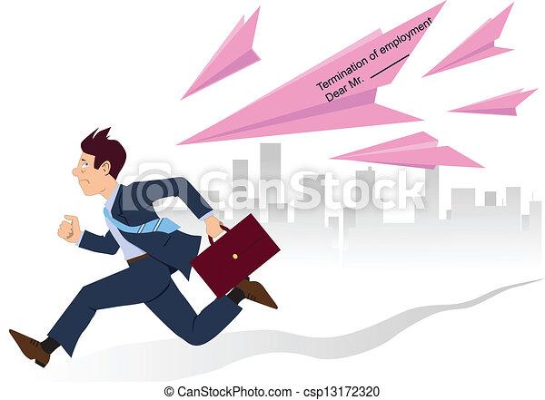 従業員, ピンク, 動くこと, スリップ - csp13172320
