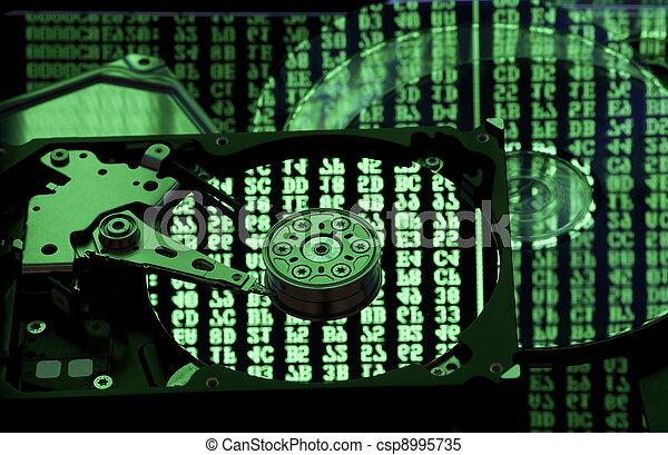 復活させなさい, バックアップ, 概念, データ記憶 - csp8995735
