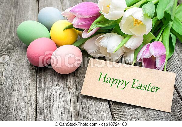 復活節, 愉快 - csp18724160