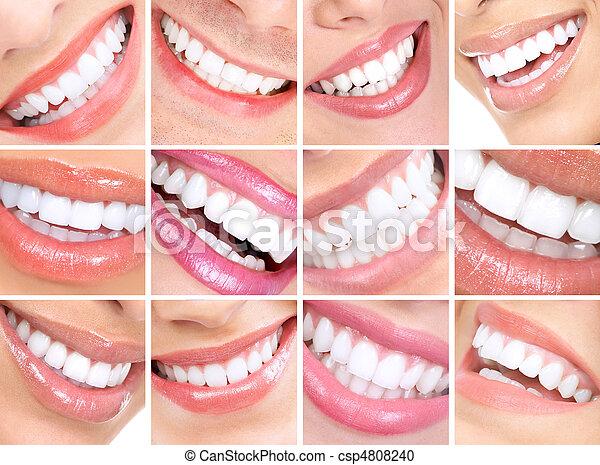 微笑, 婦女 - csp4808240