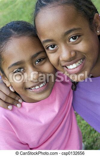 微笑, 子供 - csp0132656