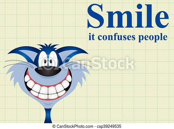 微笑, 混乱させなさい, 人々 - csp39249535