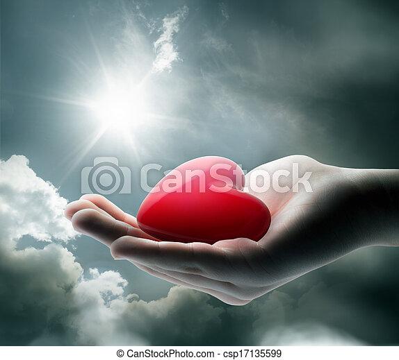 心, あなたの, ligth - csp17135599