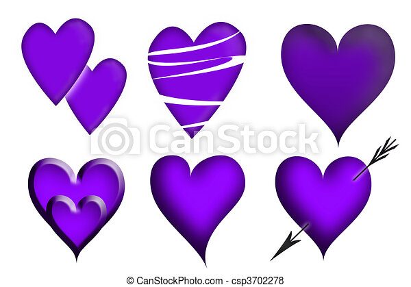 心, バレンタイン - csp3702278