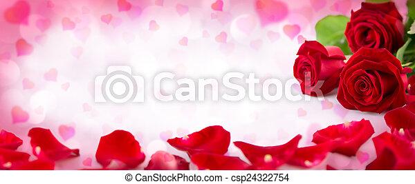 心, バレンタイン, 招待 - csp24322754