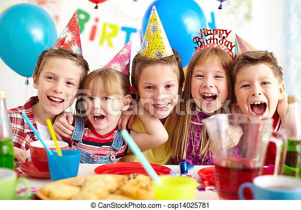 快樂, 生日 - csp14025781