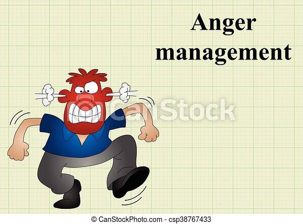 怒り, 管理 - csp38767433