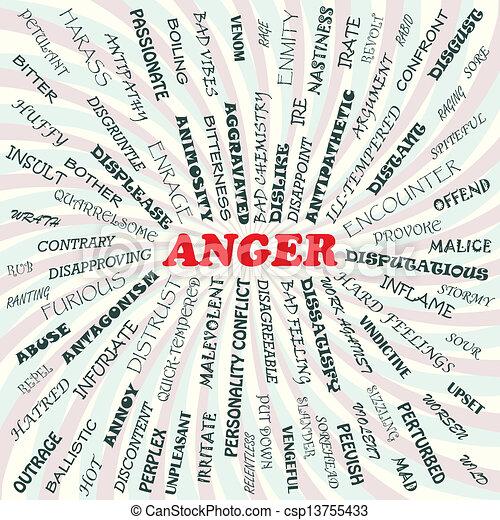 怒り - csp13755433