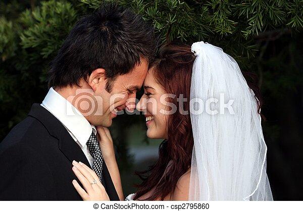 恋人, 愛, 結婚式 - csp2795860
