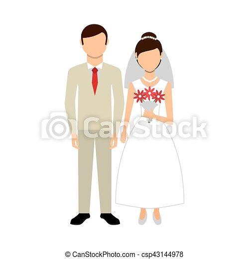 恋人, 特徴, 新婚者 - csp43144978